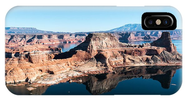 Red Rocks Drifting In Lake Powell IPhone Case