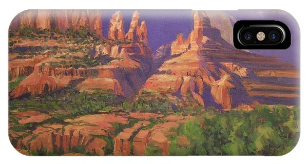 Red Rocks Sedona IPhone Case