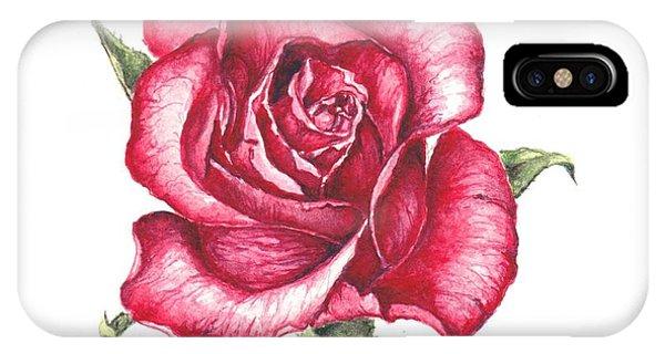 Red Rose IPhone Case