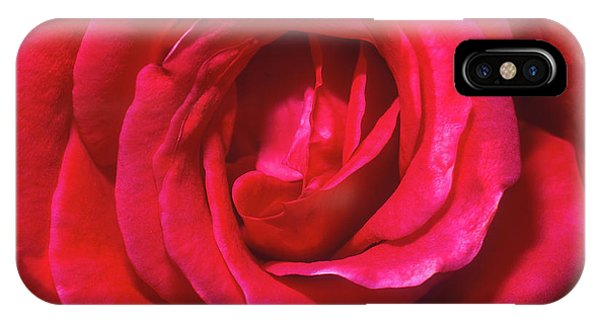 IPhone Case featuring the photograph Red Rose by John Brink