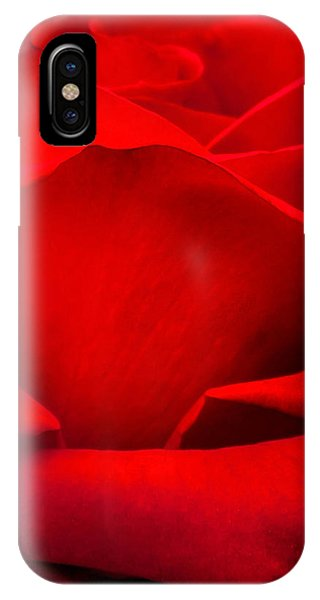 Fall Flowers iPhone Case - Red Rose Petals by Az Jackson