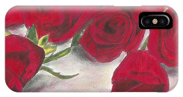 Red Rose Redux IPhone Case