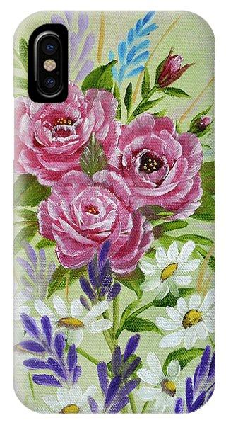 Red Roses Alla Prima IPhone Case