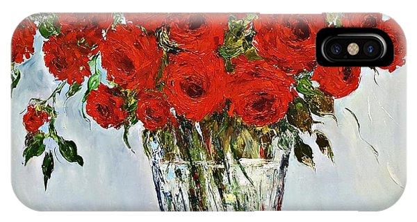 Red Roses Memories IPhone Case