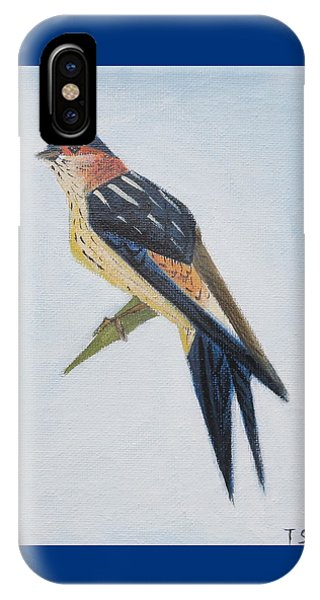 Red-rumped Swallow IPhone Case