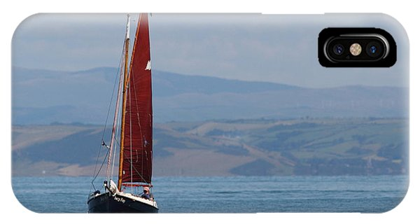 Red Sail IPhone Case