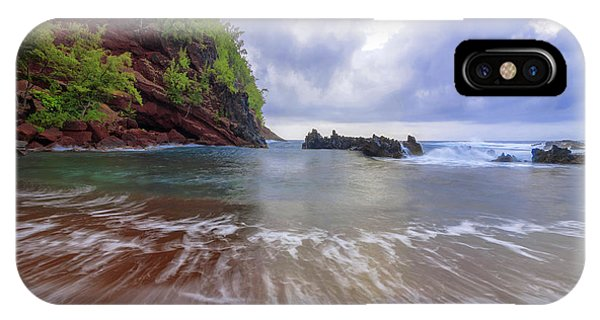 Pacific Ocean iPhone Case - Red Sand by Chad Dutson