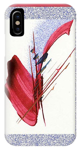 Red Sax IPhone Case