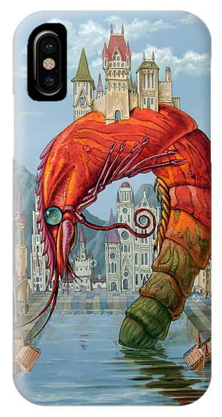 Red Shrimp IPhone Case