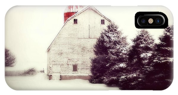 Red Silo IPhone Case