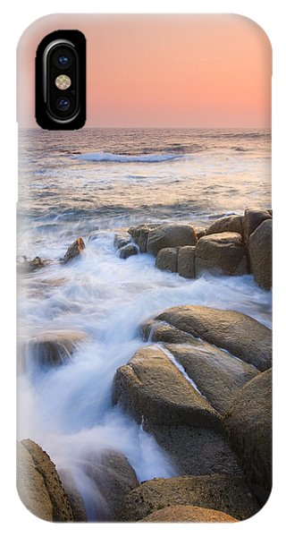Seascape iPhone Case - Red Sky At Morning by Mike  Dawson