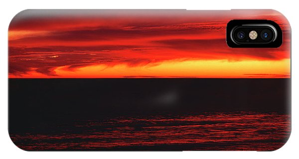 Red Sky At Night IPhone Case