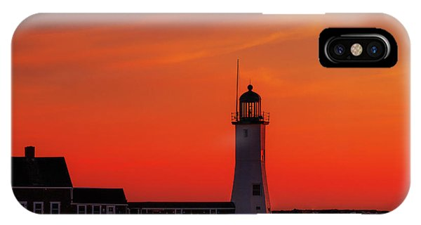 Red Sky In The Morning IPhone Case