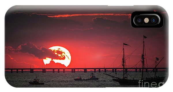 Red Sky IPhone Case