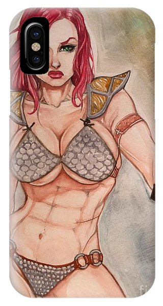 Red Sonja IPhone Case