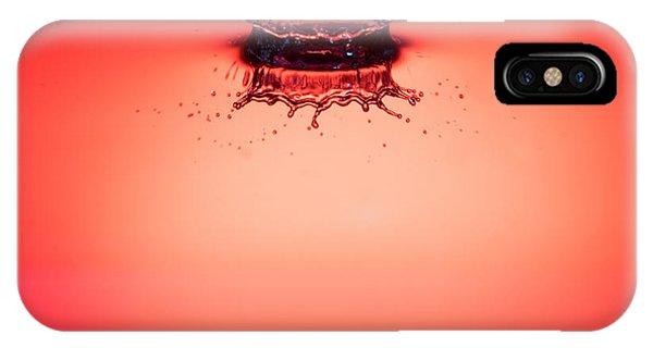Red Splashdown 2 IPhone Case