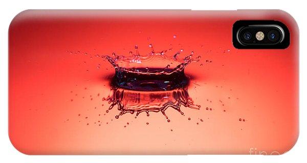 Red Splashdown IPhone Case