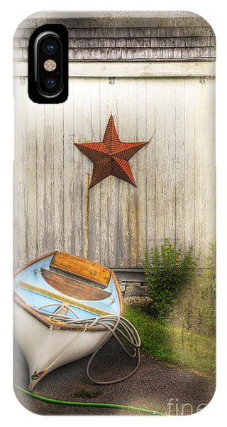 Red Star Boat IPhone Case