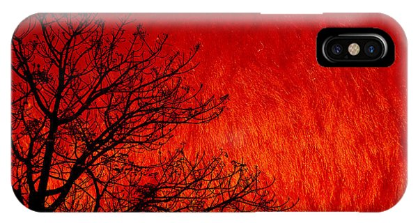 Red Storm IPhone Case
