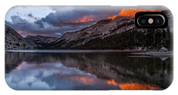 Red Sunset At Tenaya IPhone Case