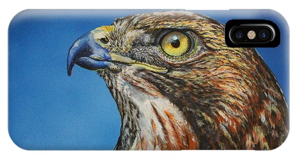 Red-tailed Hawk......honor IPhone Case