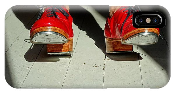 Red Tap Shoes IPhone Case