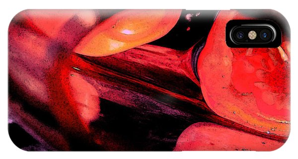 IPhone Case featuring the photograph Red Tomatoe Two by Richard Ricci