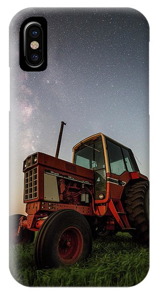 Red Tractor IPhone Case