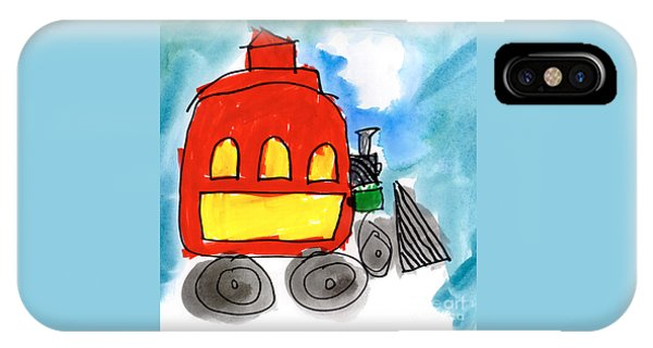 Red Train IPhone Case