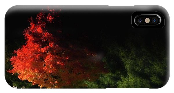 Red Tree IPhone Case