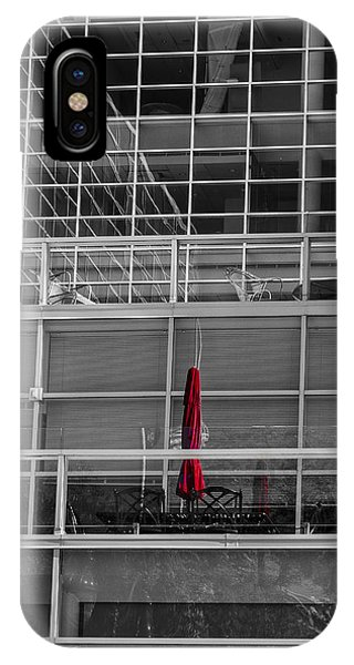 Red Umbrella - Madison Wisconsin IPhone Case