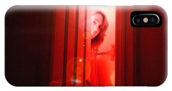 Red Unfocused IPhone Case