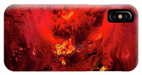 Red Universe IPhone Case