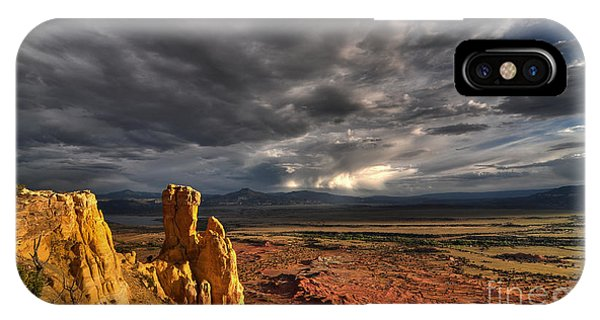 IPhone Case featuring the photograph Red Valley by Brian Spencer
