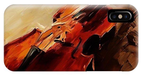 Red Violin  IPhone Case