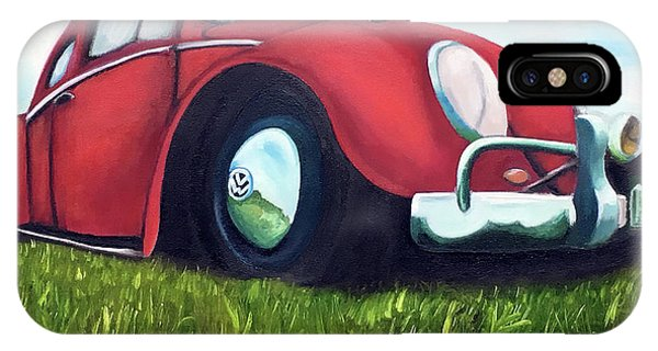 Red Vw IPhone Case