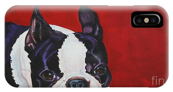 Red White And Black IPhone Case