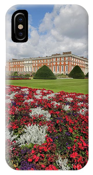 Red White And Blue At Hampton Court IPhone Case