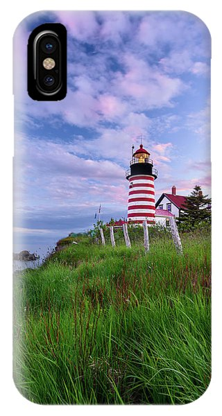 Red, White And Blue - Vertical IPhone Case