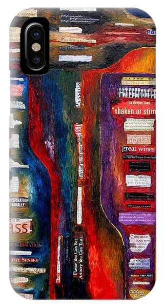 Red White Whatever Phone Case by Patti Schermerhorn