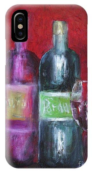 Red Wine Art IPhone Case