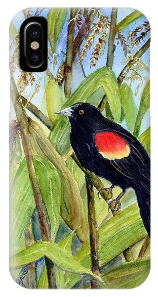 Red-winged Sentry IPhone Case