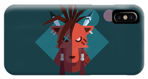 Red Xiii IPhone Case