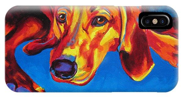 Redbone Coonhound IPhone Case