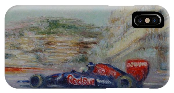 Redbull Racing Car Monaco  IPhone Case