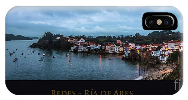 Redes Ria De Ares La Coruna Spain IPhone Case