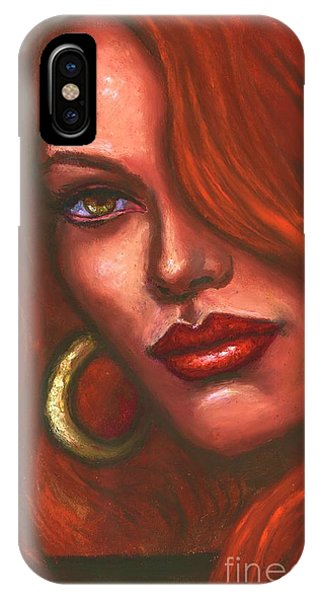Redhead IPhone Case