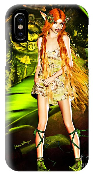 Redhead Forest Pixie IPhone Case