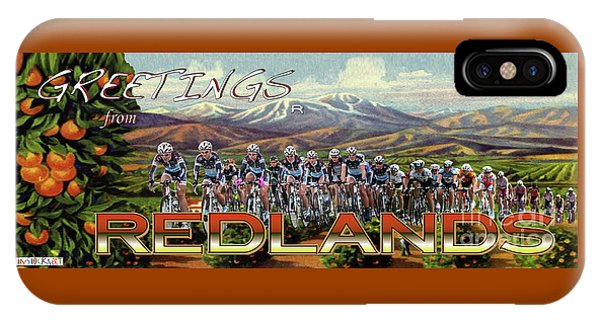 Redlands Greetings IPhone Case