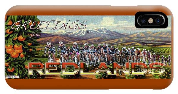 Redlands Greetings IPhone Case